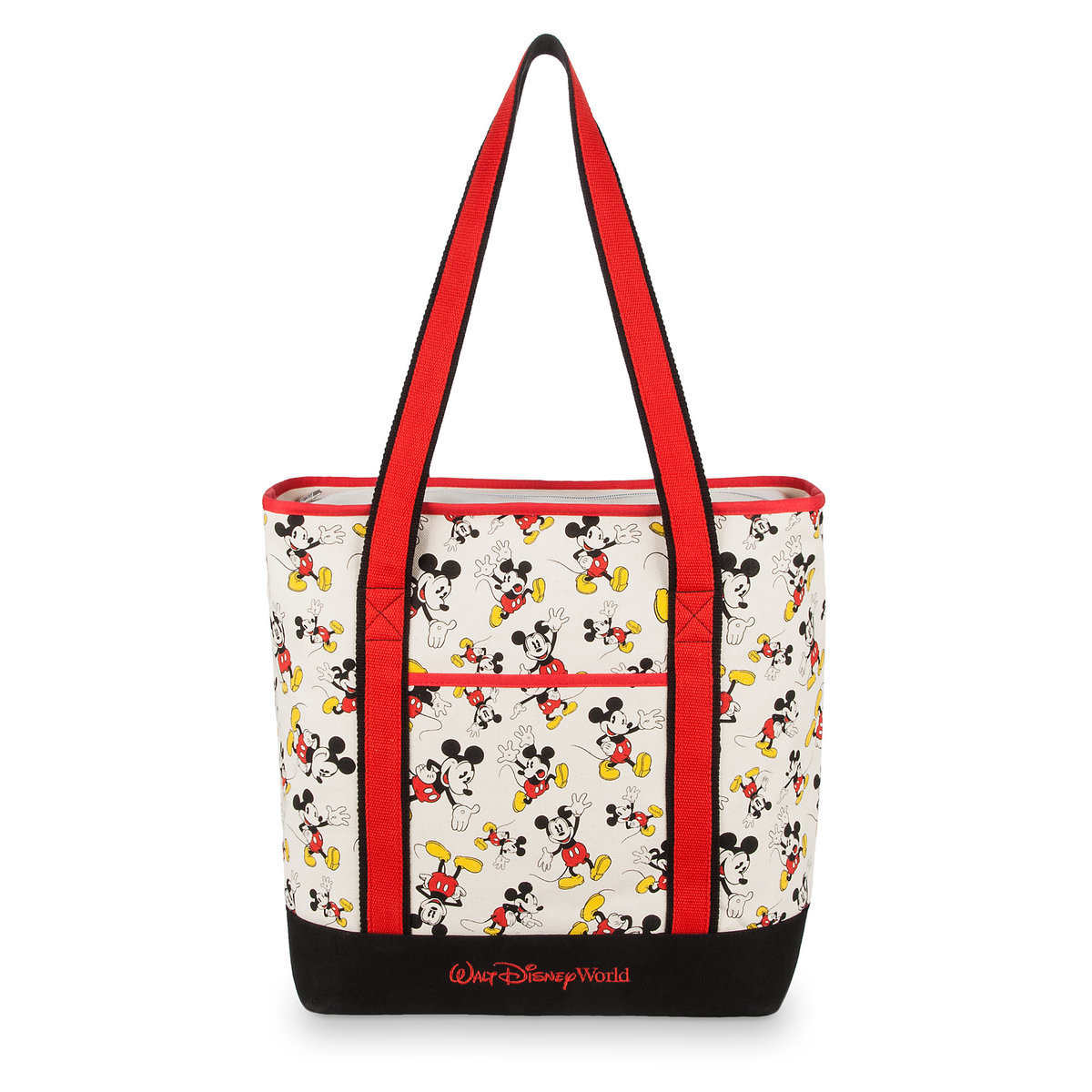 696112cf729 Product Image of Mickey Mouse Canvas Tote Bag - Walt Disney World # 1