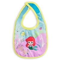 Image of The Little Mermaid Bib for Baby # 1