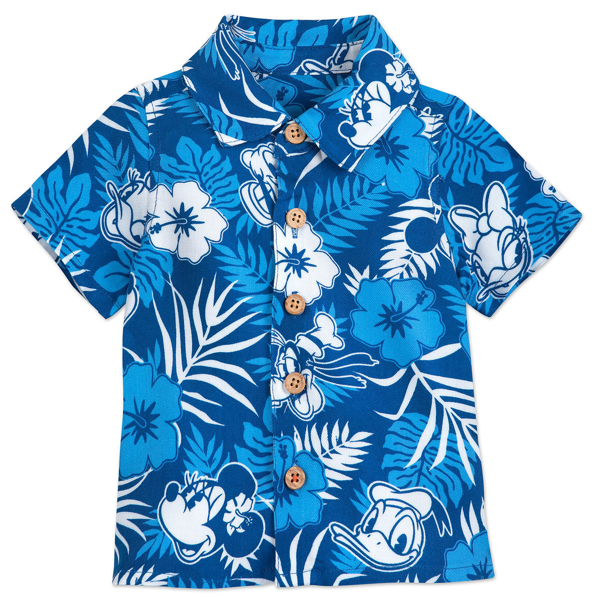0d3af707 Product Image of Mickey Mouse and Friends Aloha Shirt for Baby - Disney  Hawaii # 1