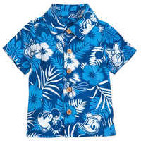 Image of Mickey Mouse and Friends Aloha Shirt for Baby - Disney Hawaii # 1