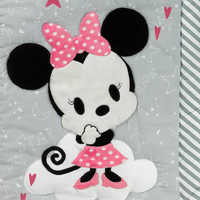 Image of Minnie Mouse Crib Bedding Set by Lambs & Ivy # 6