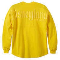 Image of Disneyland Spirit Jersey for Adults - Dapper Yellow # 2