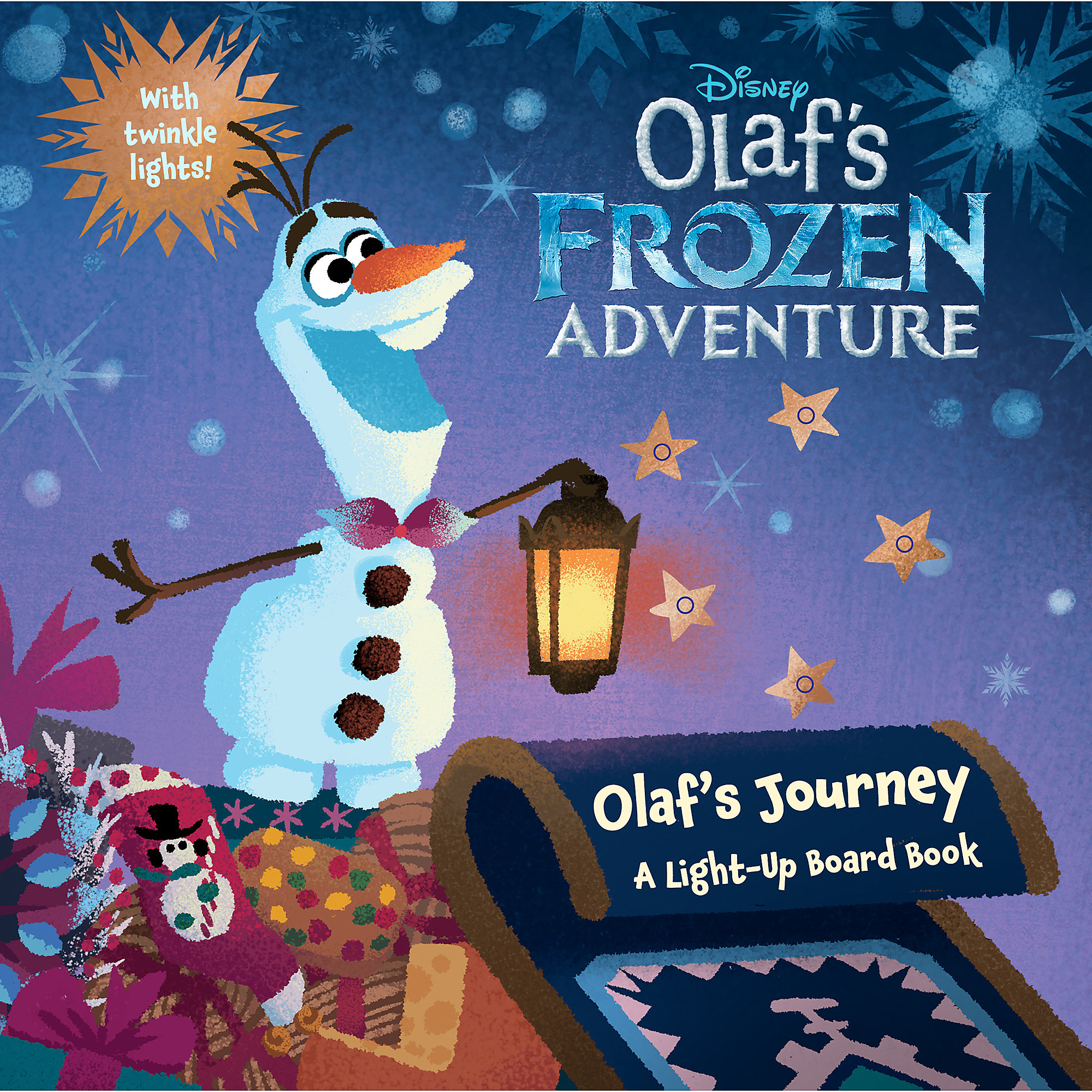 Olafs Frozen Adventure Journey A Light Up Board Book