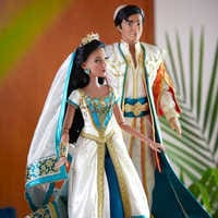Image of Jasmine and Aladdin Limited Edition Doll Set - Live Action Film - 17'' # 3