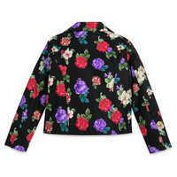 Image of Rapunzel Faux Leather Moto Jacket for Girls # 4