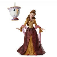 Image of Belle and Chip Couture de Force Holiday Figure and Ornament Set # 1