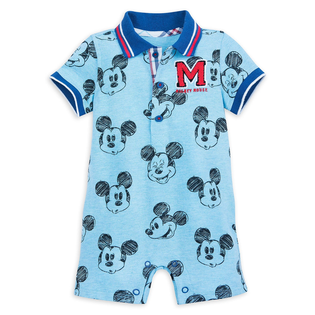 Product Image of Mickey Mouse Sketch Romper for Baby   1 89c31bbb379a