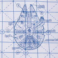 Image of Star Wars Blueprint T-Shirt for Women # 3