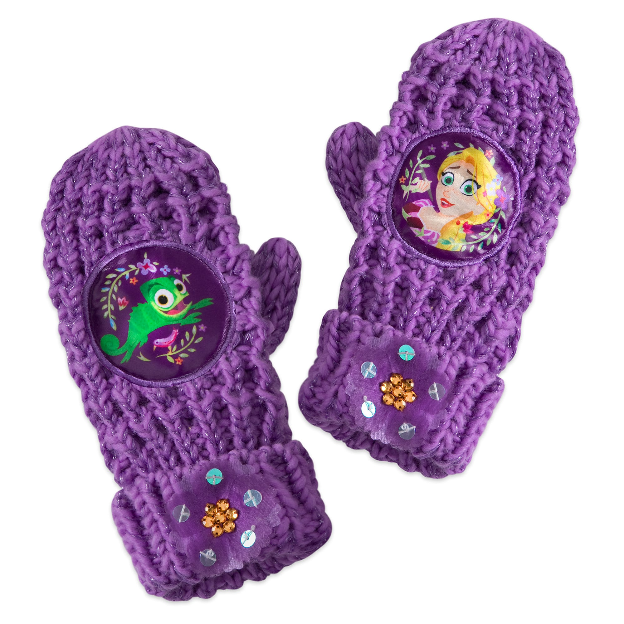 Rapunzel Mittens for Kids