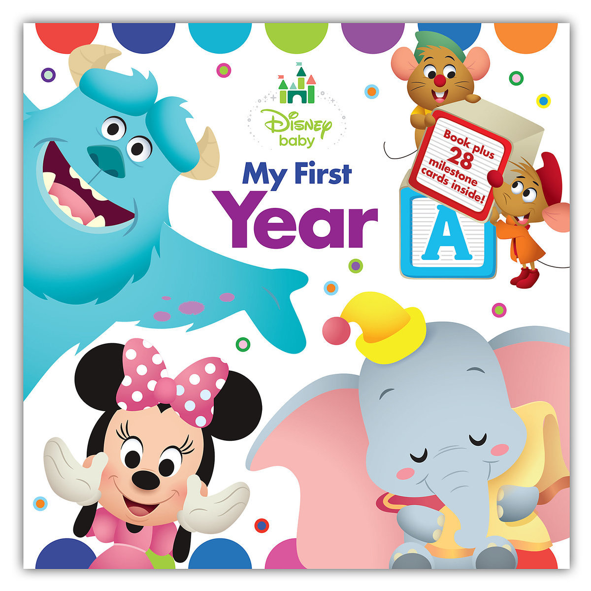 Top 25 Disney Gift Ideas for Babies featured by top US Disney blogger, Marcie and the Mouse: Disney Baby My First Year baby book