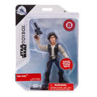 Image of Han Solo Action Figure - Star Wars Toybox # 3