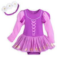 Image of Rapunzel Costume Bodysuit Set for Baby # 1