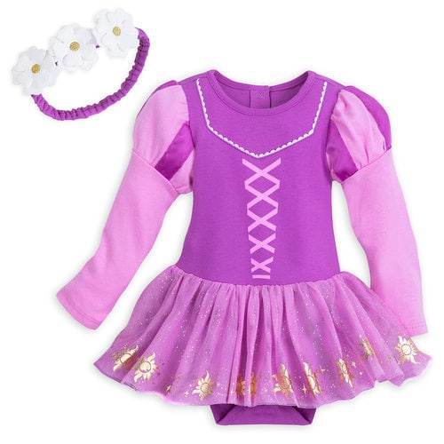 Rapunzel Costume Bodysuit Set for Baby