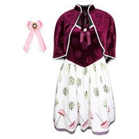 Image of Tightrope Girl Two-Piece Dress and Capelet Set for Women by Her Universe - Haunted Mansion # 1