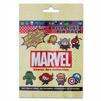 Image of Marvel ''Kawaii Art Collection'' Mystery Pin Pack # 2