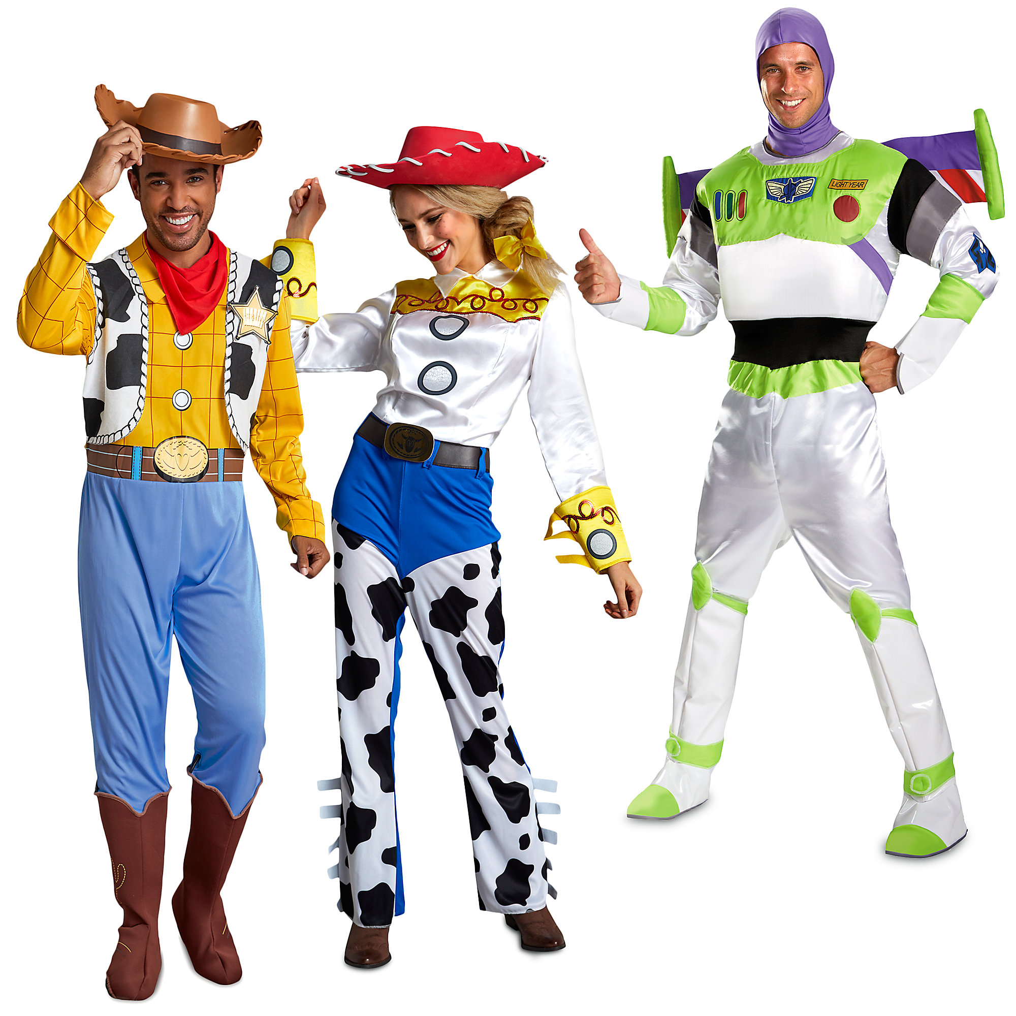 Adult toy story costumes