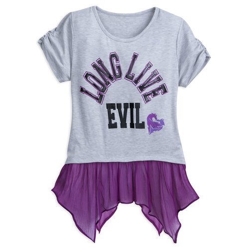 Descendants 2 ''Long Live Evil'' Top for Tweens