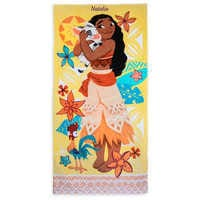 Image of Moana Beach Towel - Personalizable # 1