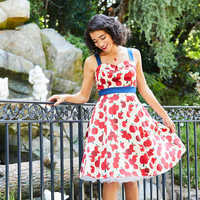 Image of Snow White Apple Dress - Women # 3