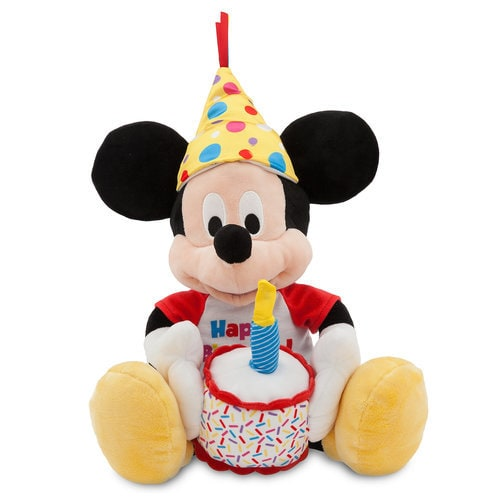 Mickey Mouse Happy Birthday Musical Plush Medium 13