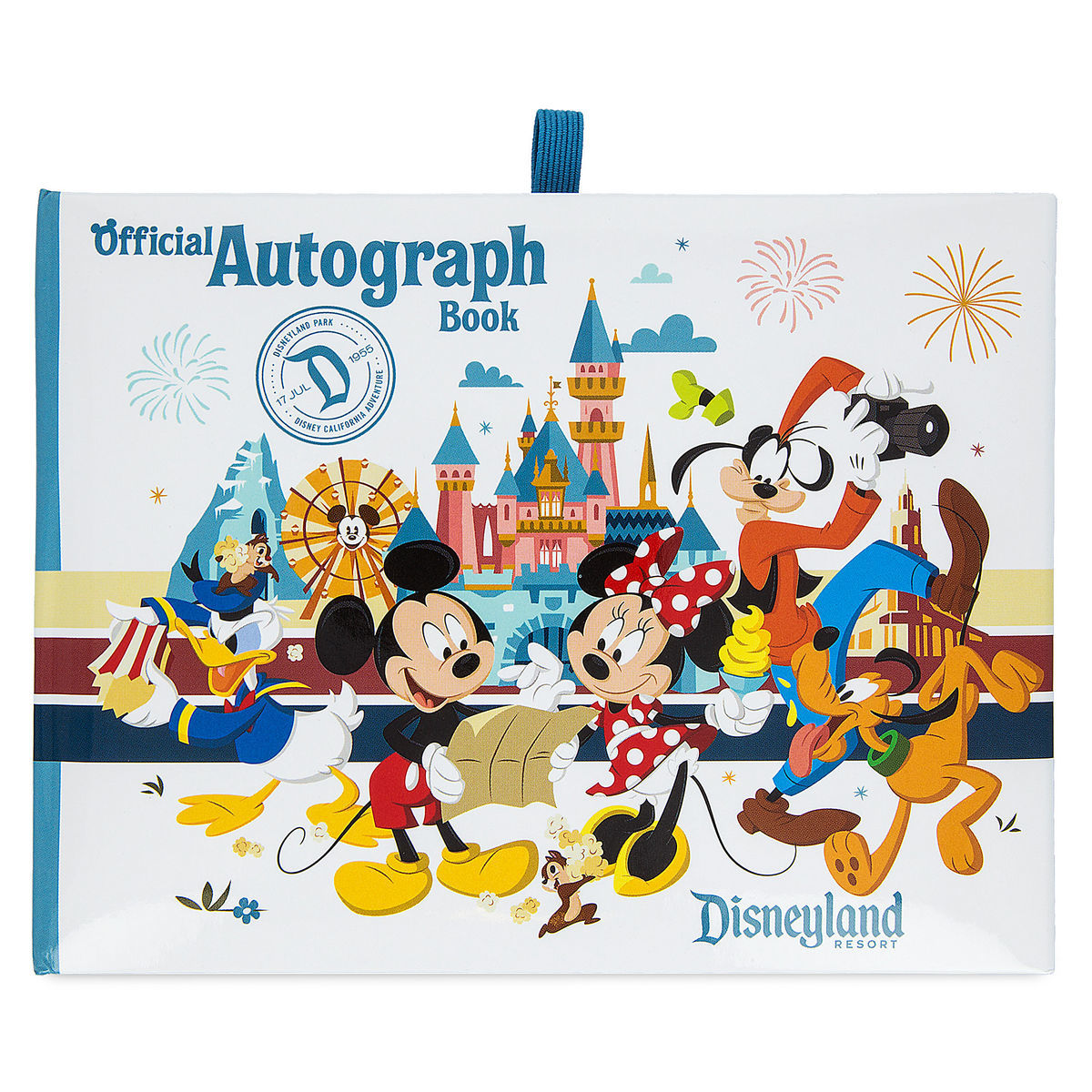 mickey mouse and friends autograph book disneyland shopdisney
