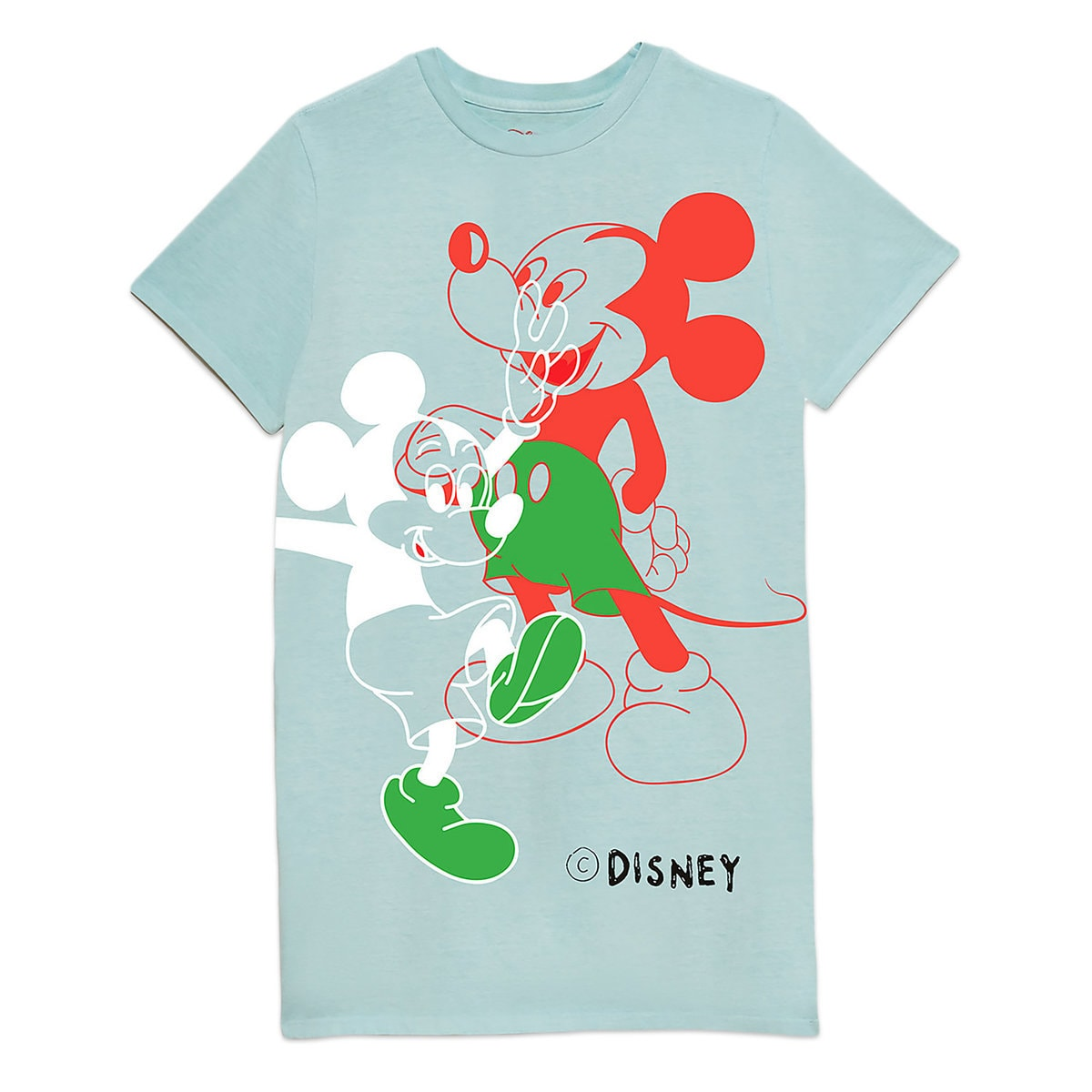 6ca61b89bacfc8 Product Image of Mickey Mouse T-Shirt Dress for Women by Opening Ceremony    1