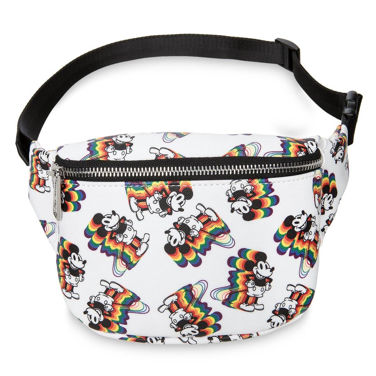 f53c5a4bd65 Product Image of Mickey Mouse Rainbow Hip Pack by Loungefly   1