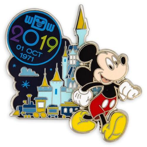 Mickey Mouse Walt Disney World Pin - 2019