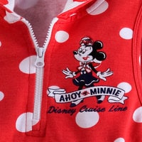 Image of Minnie Mouse Swim Cover-Up for Girls - Disney Cruise Line # 2