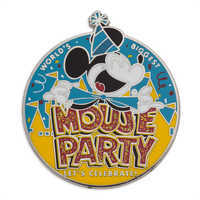 Image of Mickey Mouse ''Mouse Party'' Pin # 1