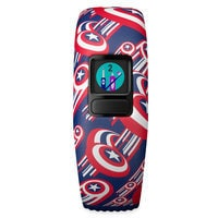 Image of Captain America Garmin vivofit jr. 2 Activity Tracker for Kids with Adjustable Band # 6