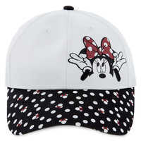 Image of Minnie Mouse Polka Dot Baseball Cap - Kids # 1