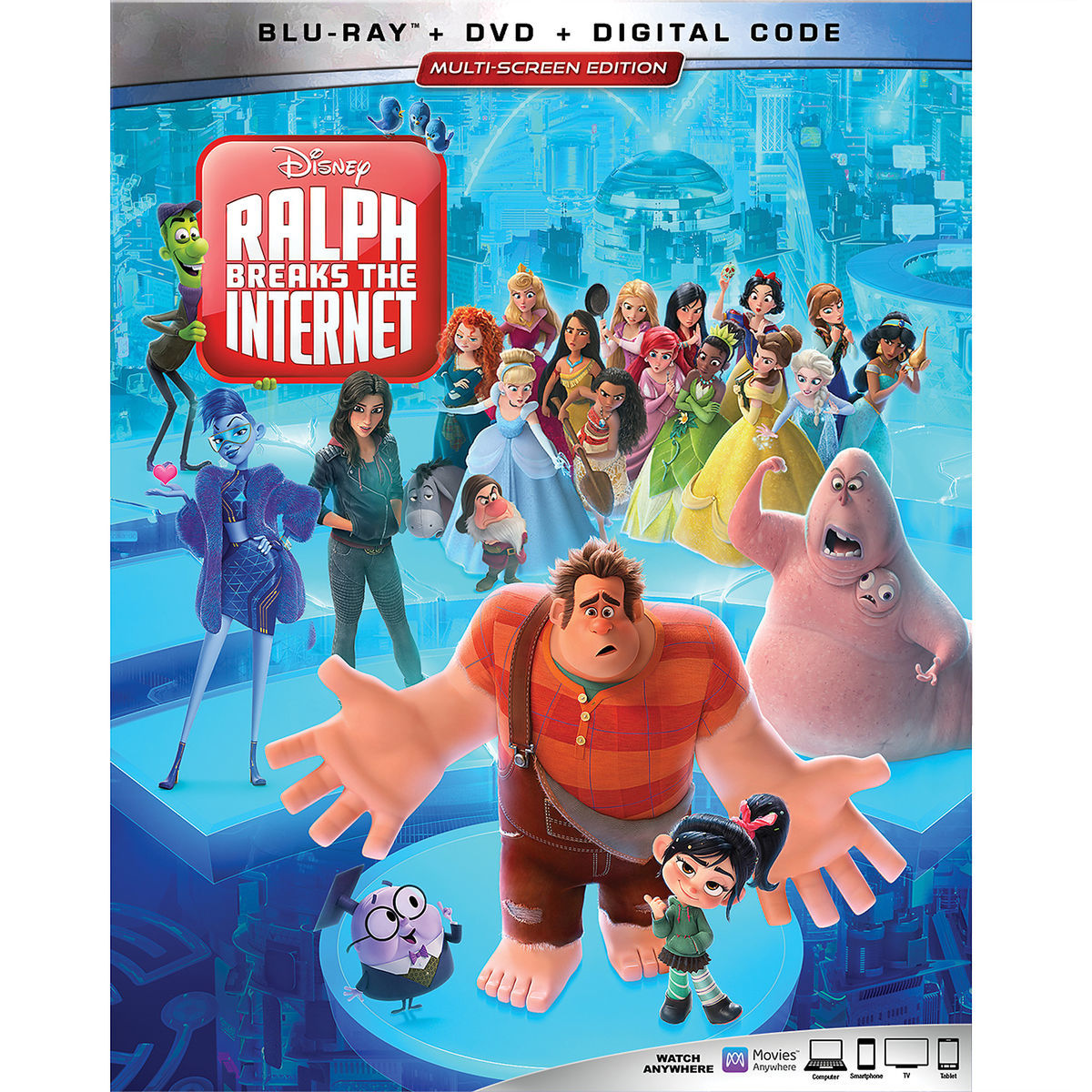 Product Image of Ralph Breaks the Internet Blu-ray Combo Pack Multi-Screen  Edition 46cd1346f