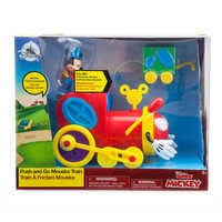 Image of Mickey Mouse Push and Go Mouska Train # 2