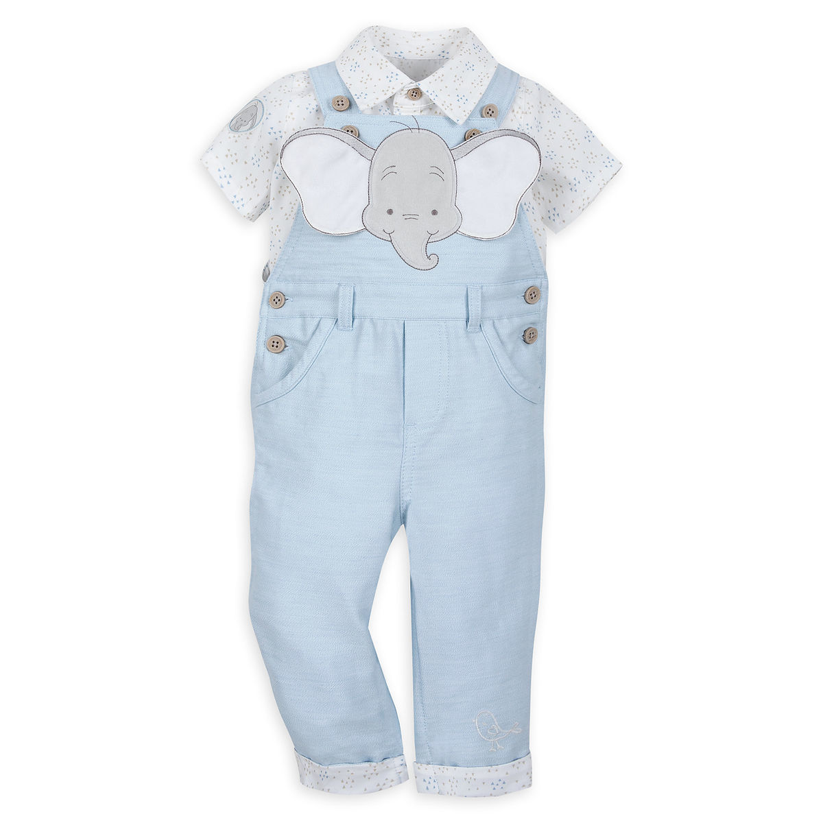 e7c253d843bc Dumbo Dungaree Set for Baby