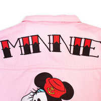 Image of Minnie Mouse Sailor Denim Jacket for Women by Cakeworthy # 7