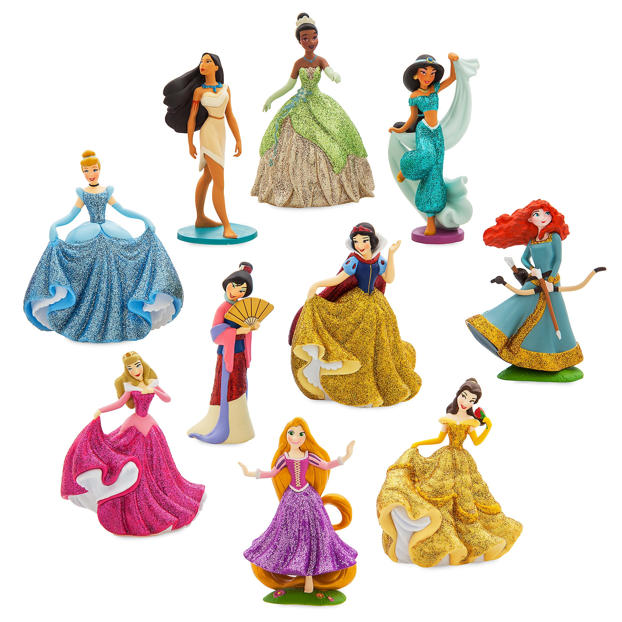 2df5ce4770f2c3 Disney Princess Deluxe Figure Play Set now available online