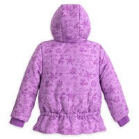 Rapunzel and Pascal Puffer Jacket For Girls - Personalizable