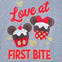 Image of Mickey and Minnie Mouse Cupcakes Pullover Hoodie for Girls # 2