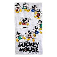 Image of Mickey Mouse Timeless Beach Towel # 1