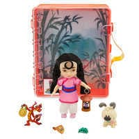 Image of Disney Animators' Collection Mulan Mini Doll Playset # 2