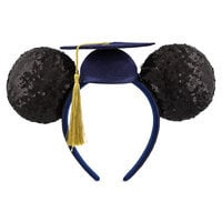 Image of Mickey Mouse Graduation 2018 Ear Headband for Adults # 1