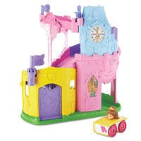 Image of Disney Princess Light & Twist Wheelies Tower - Fisher Price - Belle # 1