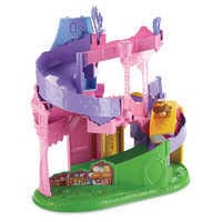 Image of Disney Princess Light & Twist Wheelies Tower - Fisher Price - Belle # 5