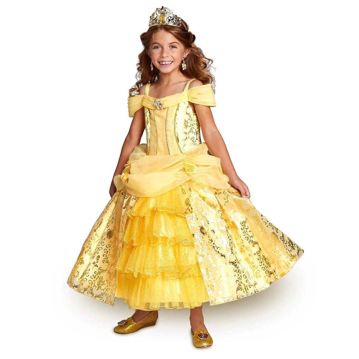 Belle Deluxe Costume For Kids Shopdisney