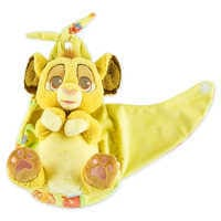 Image of Simba Plush in Pouch - Disney Babies - Small # 2