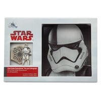 First Order Executioner Stormtrooper Pin & Lithograph Set - Star Wars: The Last Jedi - Limited Edition