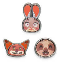 Image of Zootopia Disney Emoji Mini Pin Set # 2