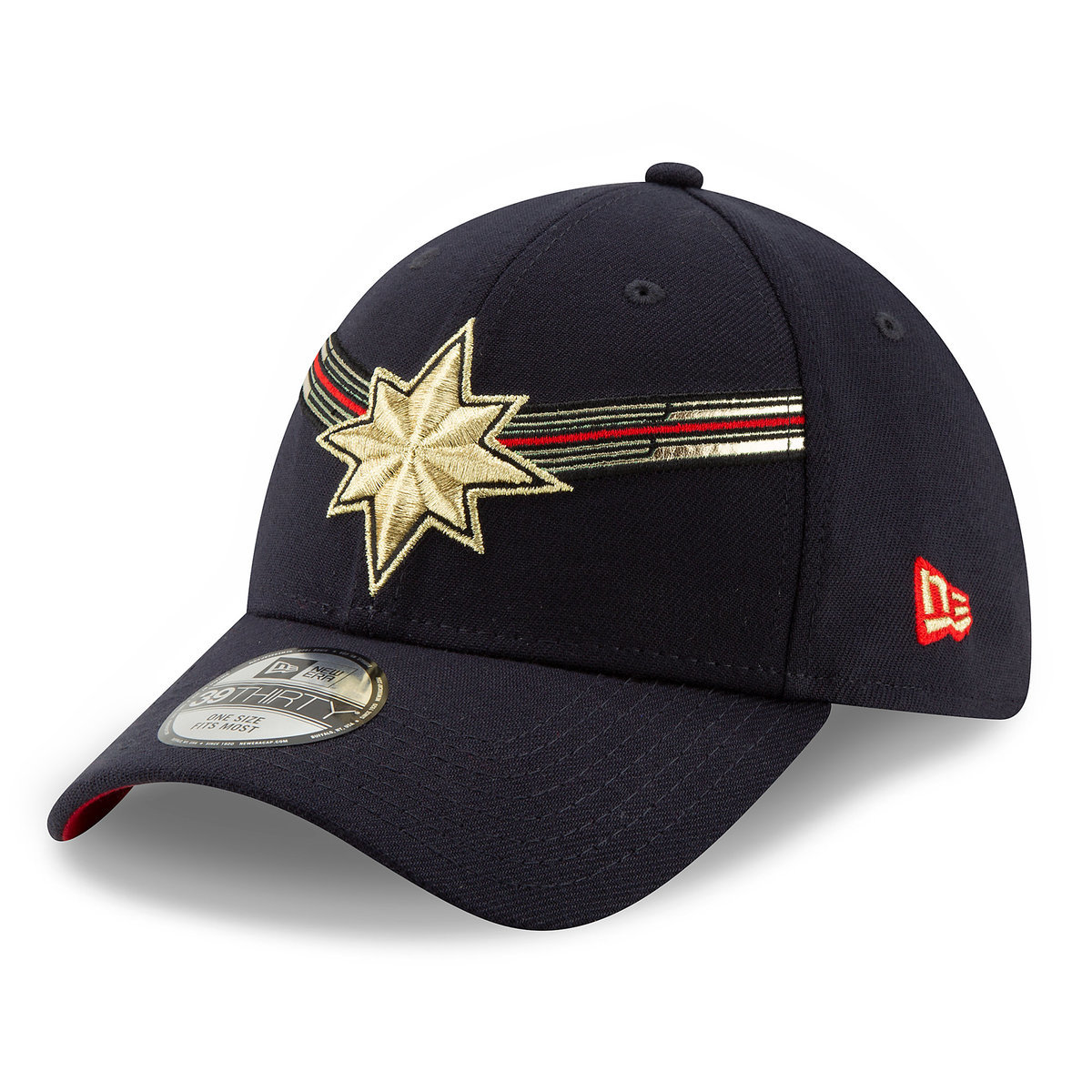 2490a4e97e9 Product Image of Marvel s Captain Marvel Baseball Cap for Adults by New Era  - Marvel Studios