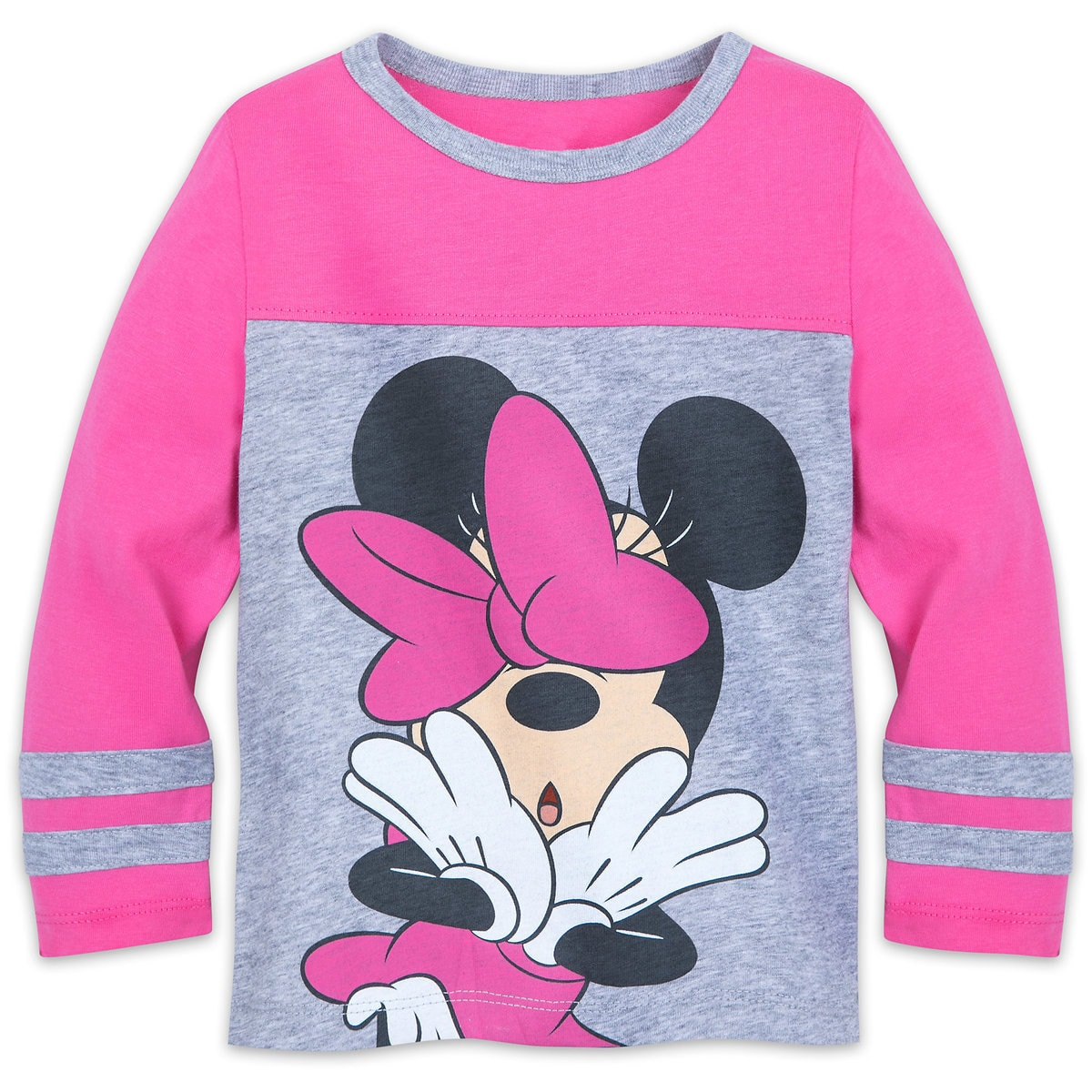 527afe1c Product Image of Minnie Mouse Long Sleeve Shirt for Girls # 1